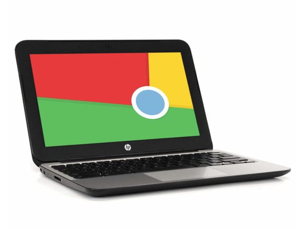 "HP Chromebook V2W30UT 11"" Laptop, 2.16GHz Intel Celeron, 2GB RAM, 16GB SSD, Chrome (Grade B)"