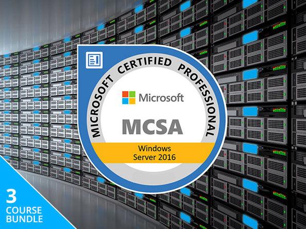 The Lifetime MCSA Windows Server 2016 Bundle