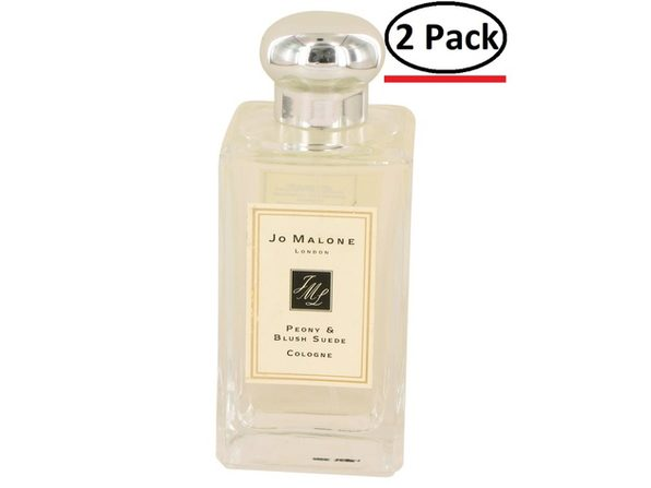 Jo Malone Peony & Blush Suede by Jo Malone Cologne Spray (Unisex Unboxed) 3.4 oz for Men (Package of 2) - Product Image