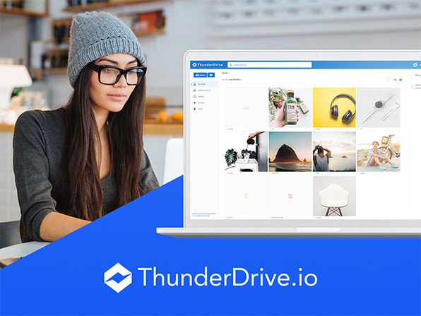 ThunderDrive Cloud Storage: Lifetime Subscription