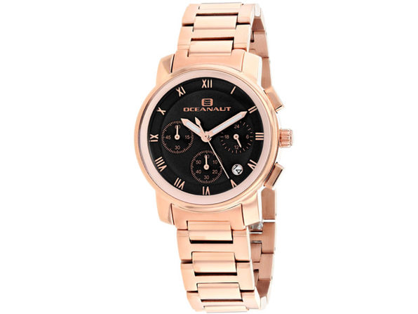 Oceanaut Women's Riviera Black Dial Watch - OC0633