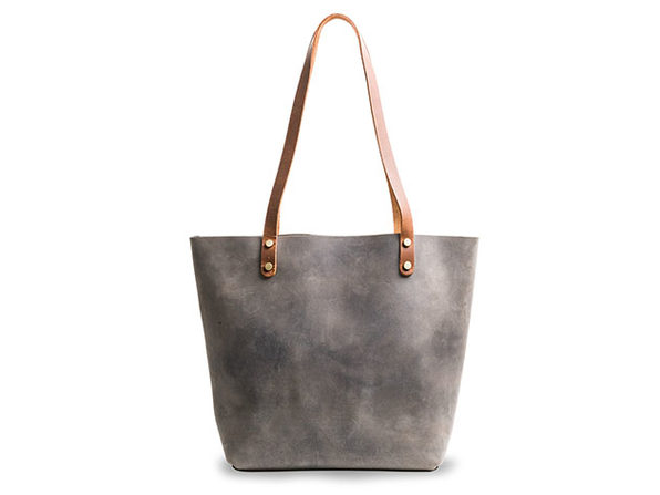 LaSalle Rustic Leather Tote