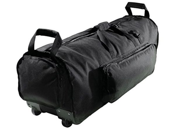 "Kaces KPHD38W Pro Drum Reinforced 600d Polyester Plastic Wheels 38"" Hardware Bag"