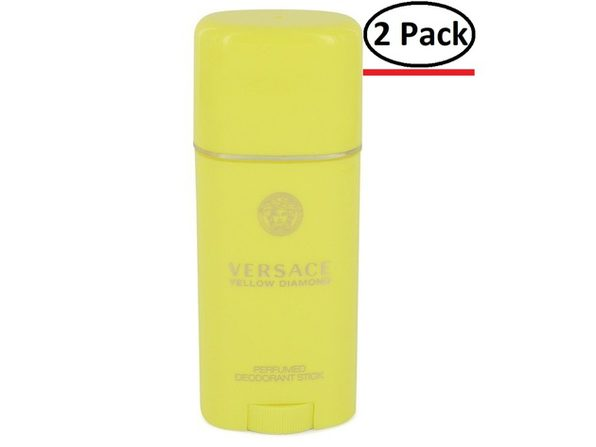 Versace Yellow Diamond by Versace Deodorant Stick 1.7 oz for Women (Package of 2) - Product Image