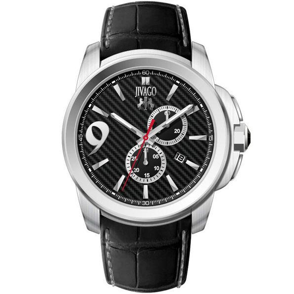 Jivago Men's Gliese Black Dial Watch - JV1517