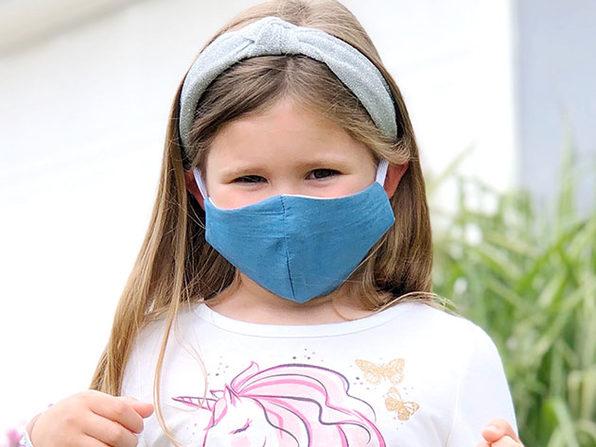 Chambray Cloth Mask (Kid Size)