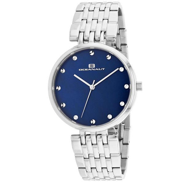 Oceanaut Women's Aerglo Blue MOP Dial Watch - OC2201