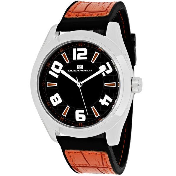 Oceanaut Men's Vault Black Dial Watch - OC7514