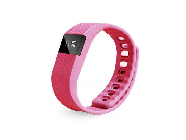 Fitness Activity Tracker Smart Wristband (Pink)
