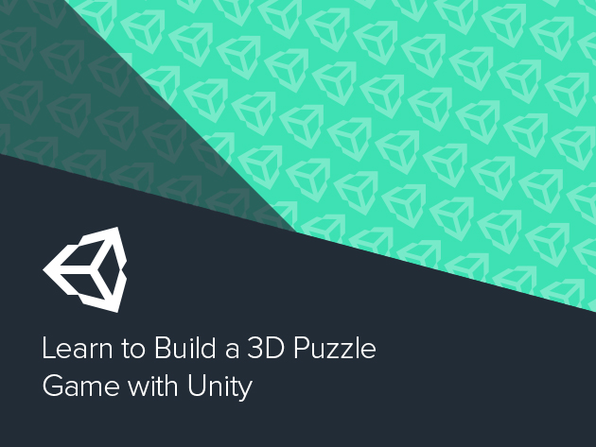 Learn to Build a 3D Puzzle Game with Unity - Product Image