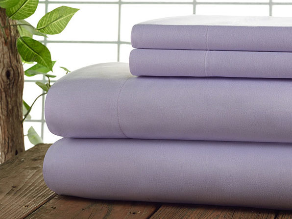 Kathy Ireland 4-Piece CoolMax Sheet Set (Lilac)