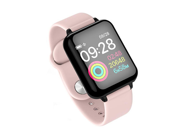 Smart Fit Multi-Functional Wellness & Fitness Watch (Pink)