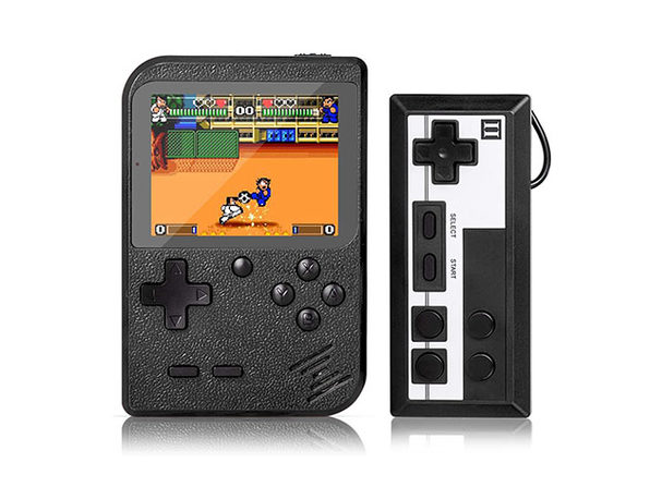 Portable Game Pad with 400 Games + 2nd Player Controller