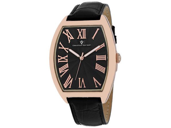 Christian Van Sant Men's Black Dial Watch - CV0272