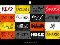 The Fonts Bundle - Product Image