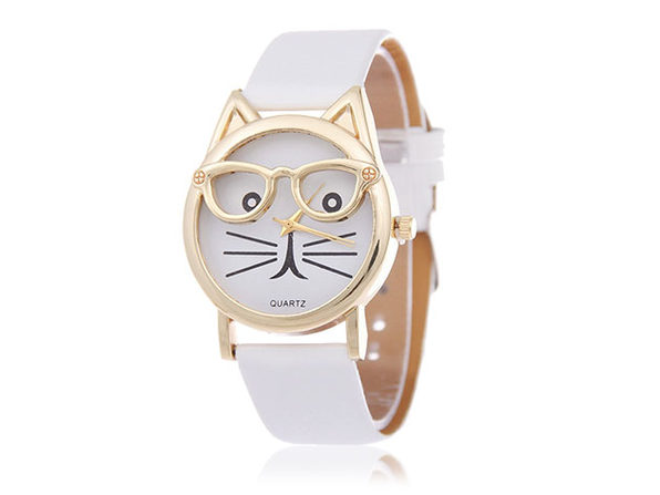 The Purr-Fect Watch - White - Product Image