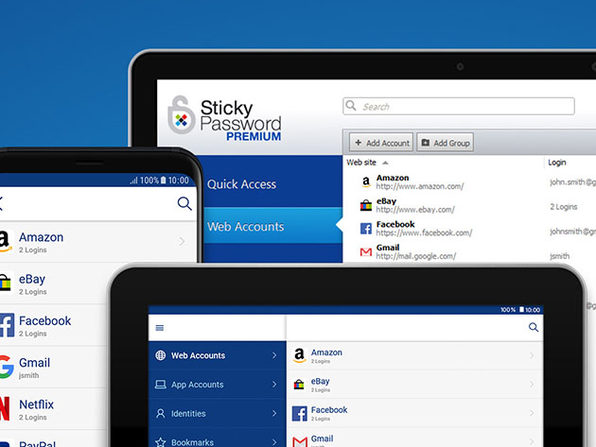 Sticky Password Premium: 3-Yr Subscription - 5 Users