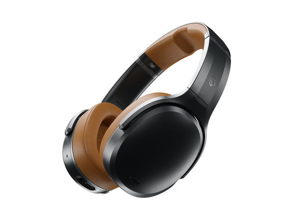 Skullcandy Crusher ANC™ Personalized, Noise Canceling Wireless Headphones (Black/Tan)