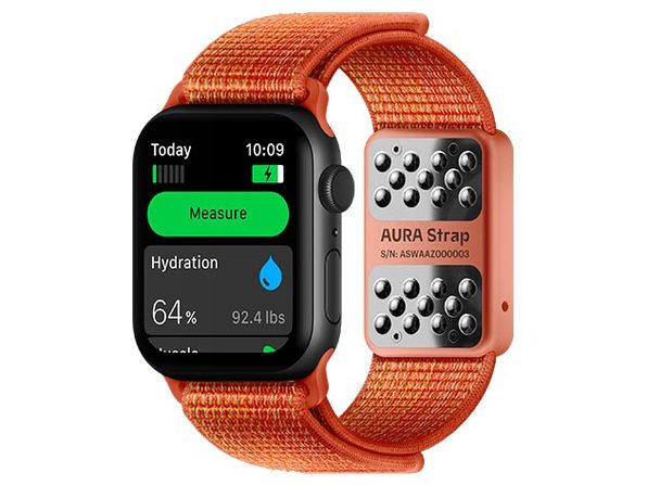 Aura Smart Strap for Apple Watch (Red)