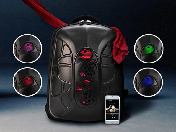 Shell Bluetooth Speaker Backpack Stacksocial