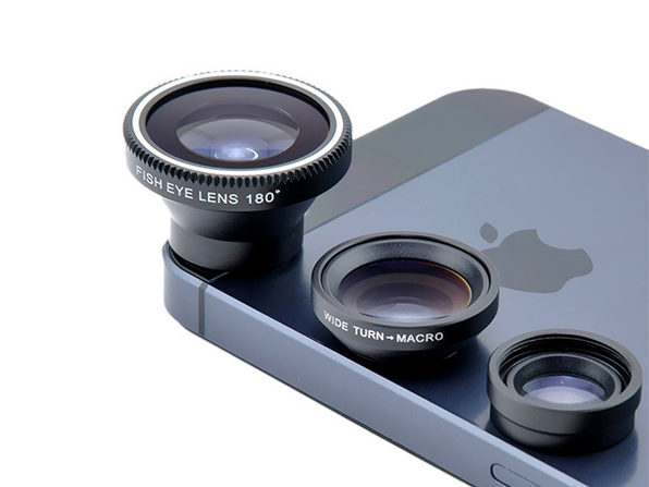 Acesori 5 Piece Smartphone Camera Lens Kit: 2- Pack