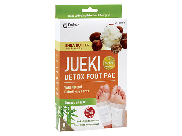 Jueki Detox Foot Pads (Shea Butter/8-Pack)