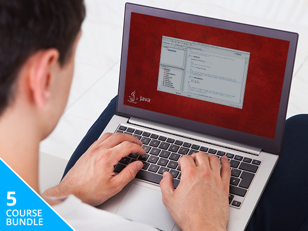 60+ Hours, 5 All-Level Courses: Become a Java Programming Pro