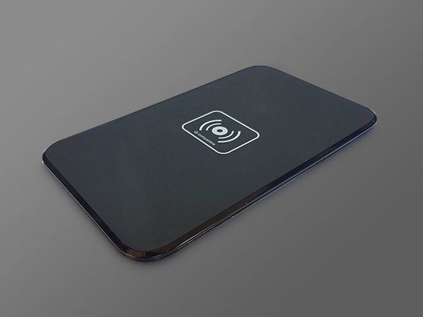 qi wireless fast charging pad idrop news store. Black Bedroom Furniture Sets. Home Design Ideas