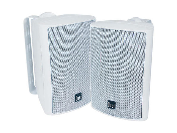 Dual LU47PW 4 inch 3-Way Indoor/Outdoor Speakers - White - Product Image
