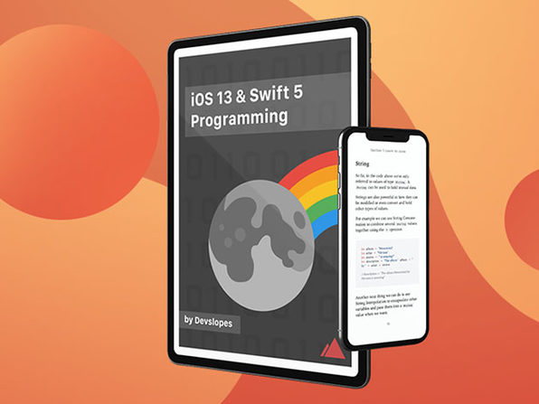 iOS 13 & Swift 5 Programming eBook - Product Image