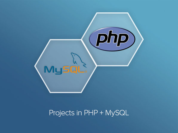 Projects in PHP & MySQL - Product Image