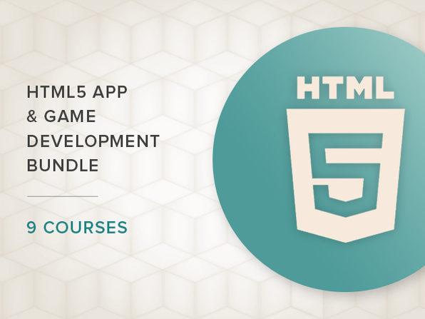 HTML5 App & Game Development 6-Course Bundle - Product Image