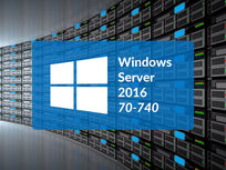 Microsoft 70-740: Installation, Storage And Compute With Windows Server 2016 - Product Image