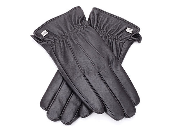 Cold-Weather Leather Gloves (Espresso/Large)