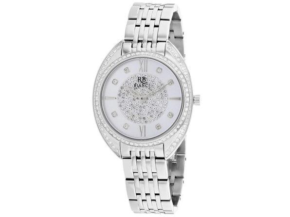 Roberto Bianci Women's Aveta Silver Dial Watch - RB0210