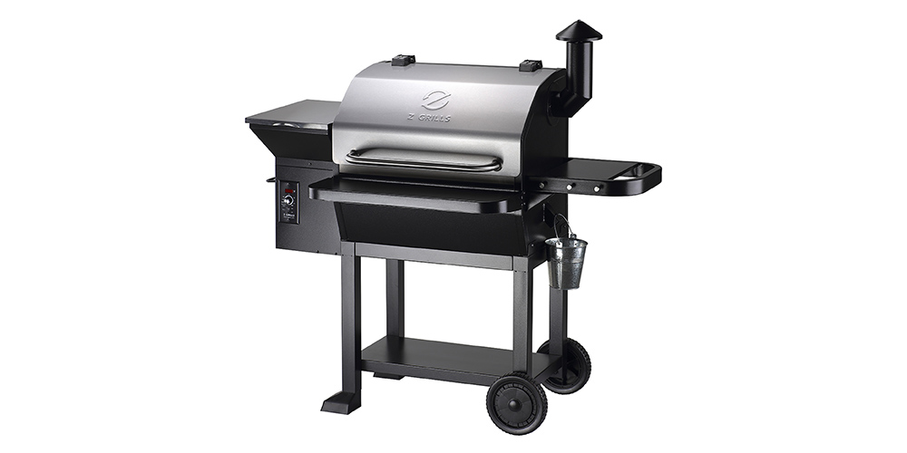 Z Grills 10002E Powerhouse Wood Pellet Grill, on sale for $579 (17% off)