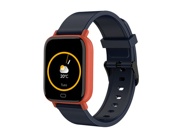 Smart Fit Multi-Function Smartwatch Tracker & Monitor (Orange/Black)