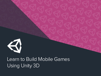 Learn to Build Mobile Games Using Unity 3D  - Product Image