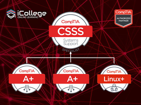 The CompTIA Systems Support Specialist Prep Course Bundle