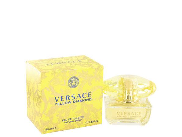 Versace Yellow Diamond by Versace Eau De Toilette Spray 1.7 oz for Women (Package of 2) - Product Image