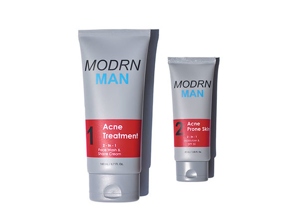 Modrn Man Acne 2-Step System