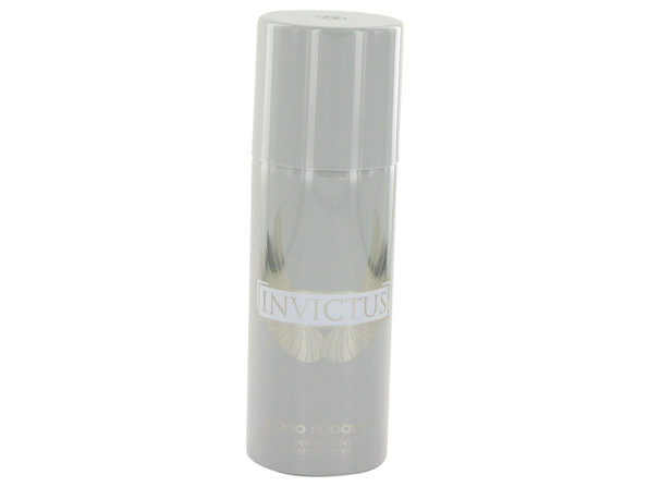 3 Pack Invictus by Paco Rabanne Deodorant Spray 5 oz for Men