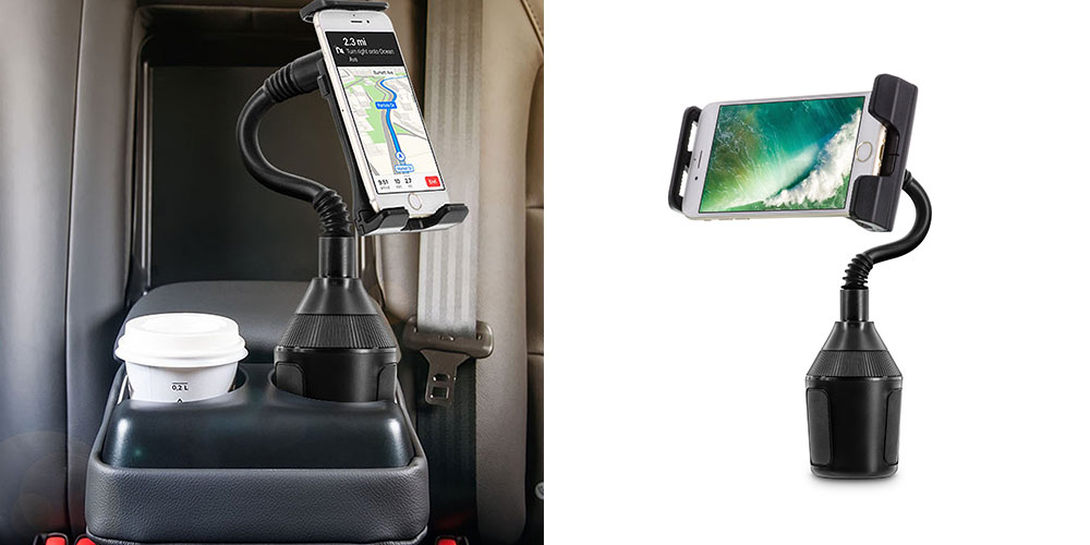 Normally $50, this U-Grip Cup Holder Car Mount is on sale for just $12