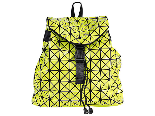 Geo Shaped Backpack - Lime - Product Image