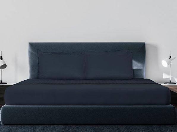 Luxe Soft & Smooth 6-Piece Sheet Set (Dark Navy/Cal King)