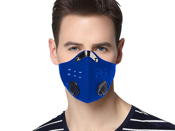 Reusable Dust-Proof Mask with 5 Filters (8 Pack)