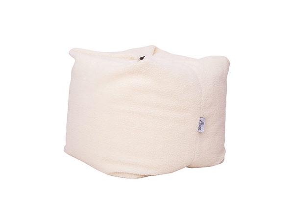 Remarkable Loungie Magic Pouf 3 In 1 Convertible Bean Bag Cream White Frankydiablos Diy Chair Ideas Frankydiabloscom