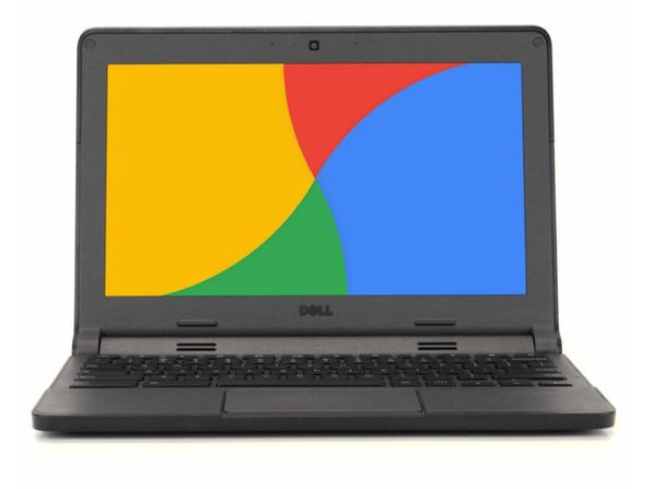 "Dell 3120 11"" Chromebook , 1.4GHz Intel Celeron, 2GB RAM, 16GB SSD, Chrome (Grade B)"