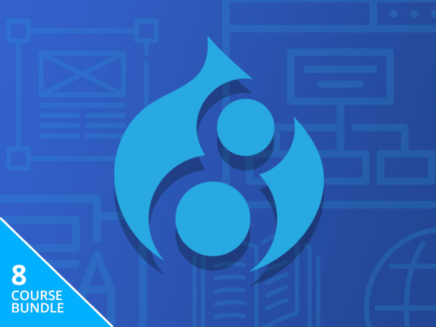 Drupal 8 Course and e-Book Bundle | StackSocial