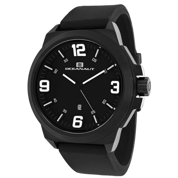 Oceanaut Men's Armada Black Dial Watch - OC7119